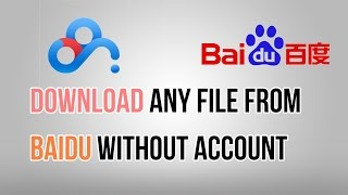 getlinkyoutube.com-Download file from Baidu (Without account and software)(2016)