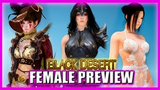 Sexy Lady Armor and Lingerie Preview - Black Desert Online