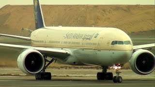 getlinkyoutube.com-Air Traffic at Jeddah Airport (JED) الحركة الجوية في مطار جدة