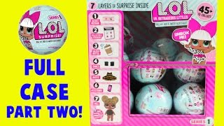 getlinkyoutube.com-MEGA LOL Doll Case Unboxing! Part Two! 7 Layers of Surprises!