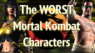 Who is the WORST Mortal Kombat Character? (Part 1)