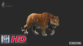 """CGI VFX Breakdowns HD: """"Making of Tiger for Lilyhammer""""  - by Panoptiqm"""