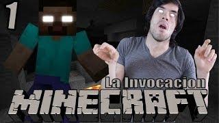 getlinkyoutube.com-HEROBRINE | Minecraft La Invocación (1)
