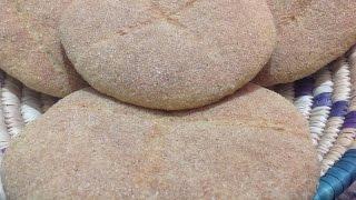 getlinkyoutube.com-خبز بلدي مغربي في البيت مع طريقة العجين و التڭراص Homemade Moroccan Bread