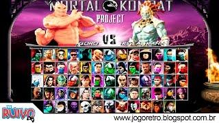 getlinkyoutube.com-Mortal Kombat Project Season 2.5 (ULTIMATE UPDATE) MUGEN 2017