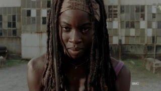Michonne All Walker Kills The Walking Dead