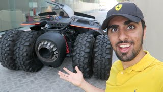 getlinkyoutube.com-Batmobile CAUGHT in Dubai !!!