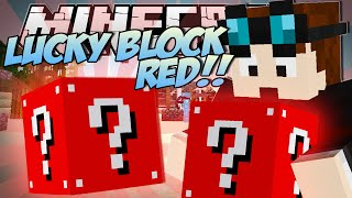 getlinkyoutube.com-Minecraft   LUCKY BLOCK RED (Even More Insane Blocks!)   Mod Showcase