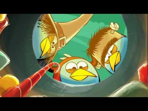 Angry Birds - A sneak peek to the newest adventures!