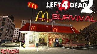 getlinkyoutube.com-Left 4 Dead 2: McDonalds Survival Map With VinceXEntertainment