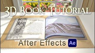getlinkyoutube.com-Custom 3D Book (After Effects Tutorial)