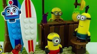 getlinkyoutube.com-Minions Banana Bar Día de Playa Beach Day - Juguetes de Los Minions