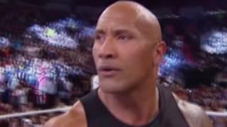 getlinkyoutube.com-Brock Lesnar interrupts The Rock : Raw, May 16, 2016
