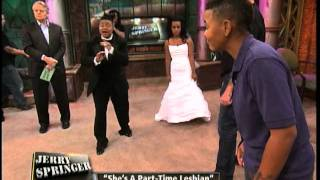 getlinkyoutube.com-She's A Part-Time Lesbian (The Jerry Springer Show)