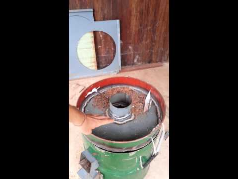 Distiller Rocket Stove Test