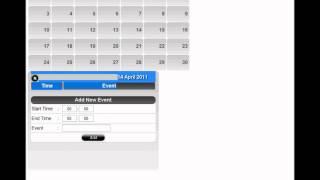getlinkyoutube.com-jQuery & PHP Event Calendar Apps