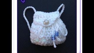 getlinkyoutube.com-bolsa de croche para barbie - LiiArt