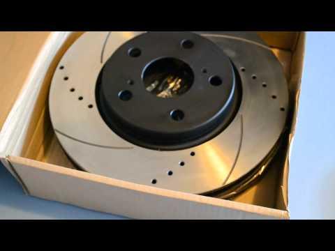 Обзор перфорированных тормозных дисков и дисков с насечками от Power Friction