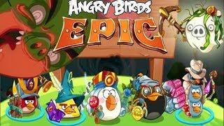 getlinkyoutube.com-Angry Birds Epic - VICTORY Secret Level Poseidon Pig  - Angry Birds Part 37