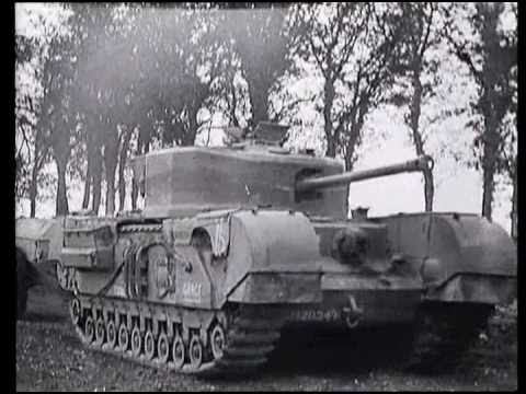 WW2 The British Churchill tank