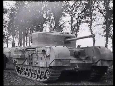 WW2 The British Churchill tank