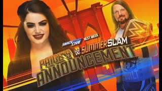 Who Should AJ Styles Face At WWE SummerSlam 2018 width=