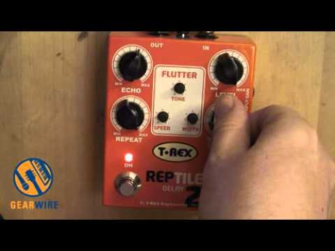 T-Rex Reptile 2 Delay Pedal Kicks More Ass Than That Gymanist Girl From Jurassic Park 2 (Video)