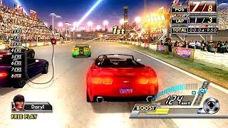 getlinkyoutube.com-SEGA Race TV (2008) ALL Courses Playthrough (60 FPS) SEGA Lindbergh Arcade Hardware