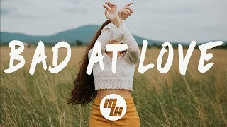 Halsey - Bad At Love (Lyrics / Lyric Video) width=