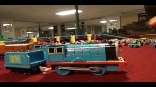 11 Custom Trackmaster Thomas Trains 9/Test Run