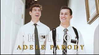 getlinkyoutube.com-Adele - Hello (Mormon Missionary Parody)