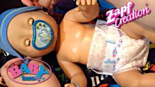 getlinkyoutube.com-Zapf Creations Baby Boy Doll Morning Routine