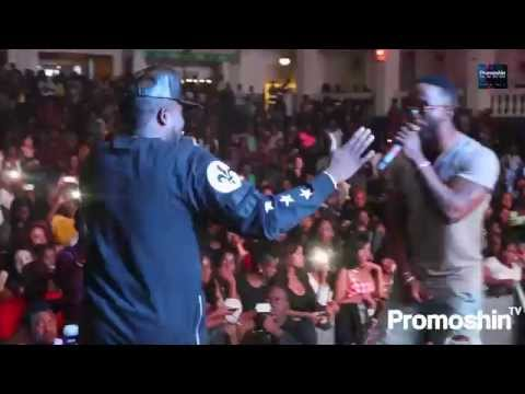 IYANYA Performs RIDE OUT with ICE PRINCE