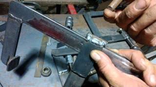 getlinkyoutube.com-Sargento casero - Home made metal clamps - 軍曹ホーム - casa Sgt