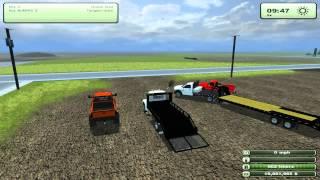 getlinkyoutube.com-Farming Simulator 2013 Mods - Dodge 2500 Lifted, Landscape truck, 82 Silverado