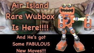 getlinkyoutube.com-Love The New RARE WUBBOX on Air Island!!!! Sep 23, 2016