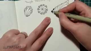 getlinkyoutube.com-Wie zeichnest Du das Muster Phicops / How to draw the pattern Phicops