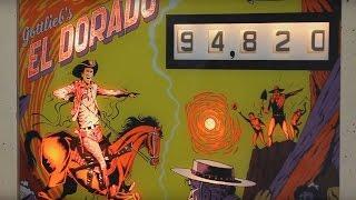 getlinkyoutube.com-1975 Gottlieb EL DORADO pinball machine