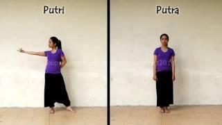 getlinkyoutube.com-تعليم رقص هندي خطوة بخطوة مع اغنية جميلة رووووووووووعة