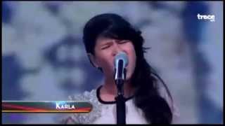 getlinkyoutube.com-Niña de 12 años sorprende cantando Chandelier de Sia (Cover)