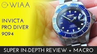 getlinkyoutube.com-Invicta Pro Diver 9094 Watch Review