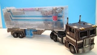 getlinkyoutube.com-TRANSFORMERS MASTERPIECE SLEEP CONVOY OPTIMUS PRIME VIDEO TOY REVIEW TAKARA LIMITED EDITION