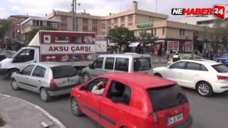 Erzincan'da Trafik Felç Oldu