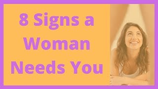 8 Signs a Woman Needs Sex