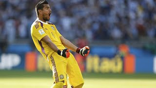 getlinkyoutube.com-Sergio Romero - Best Saves - World Cup 2014 HD