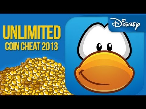 Club Penguin May 2013 Unlimited Million Coin Cheat - My Penguin