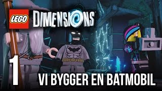 getlinkyoutube.com-The Jnx spelar Lego Dimensions | #1 | Vi bygger en batmobil