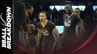 getlinkyoutube.com-How Steph Curry Overcame Kevin Durant: Warriors At Thunder