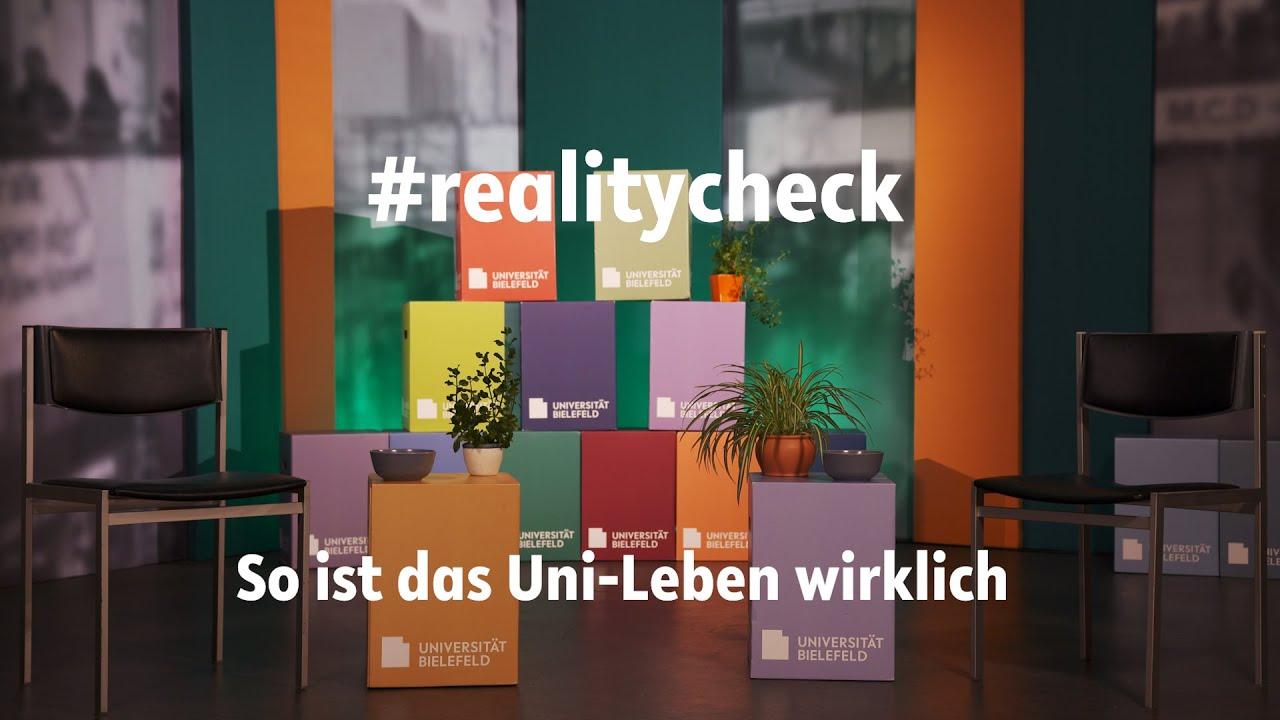 Ein Video zum Bewerbungsverfahren an der Universität Bielefeld