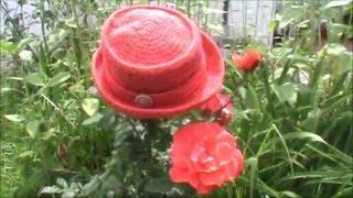 Sombrero elaborado en Crochet